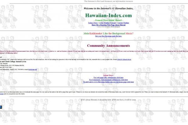 Hawai'ian Index