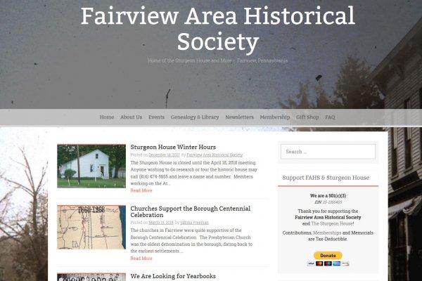 Fairview Historical Society